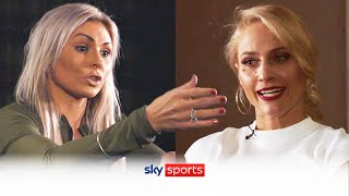 FIERY EXCHANGE! 🤬   Shannon Courtenay & Ebanie Bridges come head-to-head before world title fight