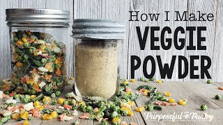 A Quick Guide To Making Vegetable Powder   Dehydrated Veggie Powder