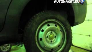 Смена колес автомобиля.