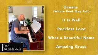 SIMPLE WORSHIP | Beautiful Worship Songs for Piano | Reckless Love, Oceans, It Is Well, and More!