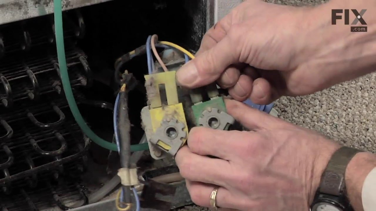 Replacing your Frigidaire Refrigerator Refrigerator Water Inlet Valve