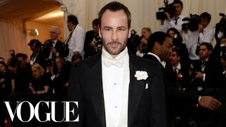 Tom Ford At The Met Gala 2014 - The Dresses Of Charles James - Vogue