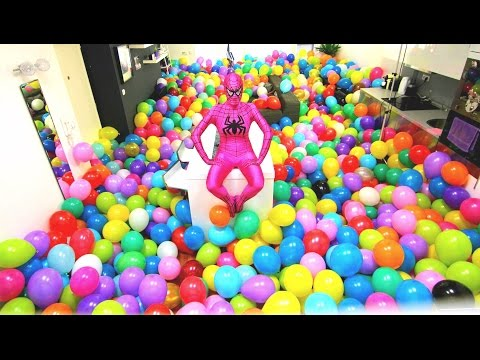 Epic Balloons Surprise PRANK