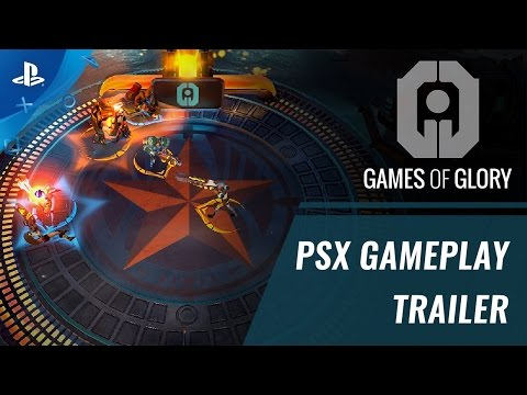 Games of Glory - PSX 2016 Gameplay Trailer | PS4 thumbnail