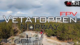 Vetatoppen Fredrikstad Norway DJI FPV Drone first try 60FPS