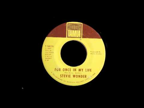 Stevie Wonder - For Once In My Life video