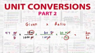 Dimensional Analysis Unit Conversion Practice For The MCAT