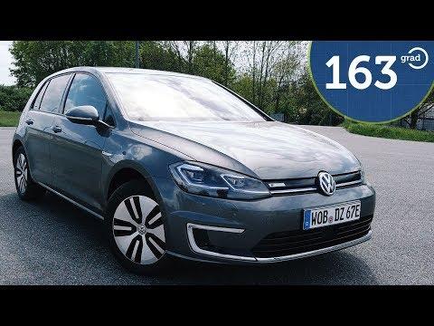 2019 VW e-Golf im Test - Mehr Leistung, mehr Reichweite, mehr Fahrspaß - 163 grad testet den egolf