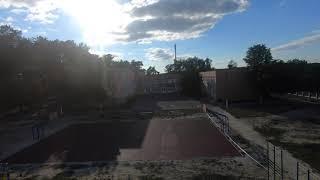 Спорт площадка 21 школы - FPV дрон Diatone Taycan + GoPro 6