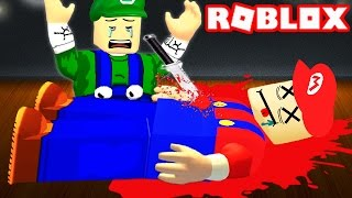 WHO KILLED MARIO IN ROBLOX!?
