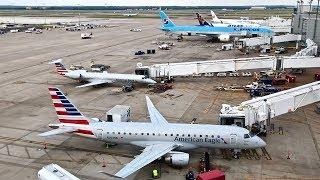 Dallas/Fort Worth (DFW) Spotting – Atlas Air/Korean – Boeing 787-8 & More – Spotting Series Ep. 278