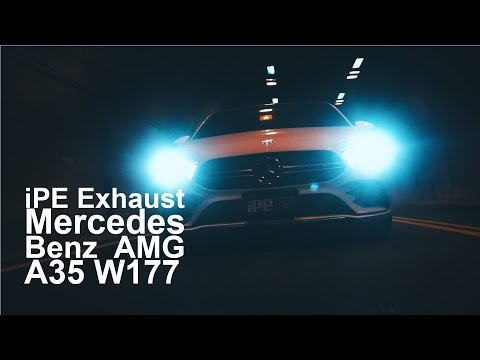 The iPE Exhaust for M-B A35 AMG W177