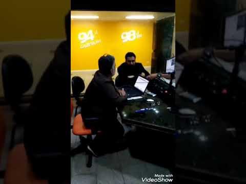 Cláudio Marcellini em entrevista sobre Inclusão Digital na Rádio Gazeta 98FM – Maceió/AL