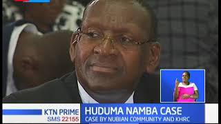 Huduma namba case questions Kenyans' data security