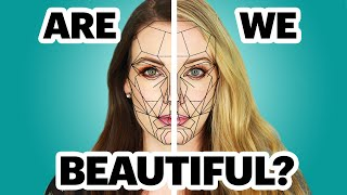 """The """"Perfect"""" Face Ratio - Crazy Photoshop Challenge!"""