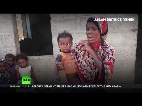 One of Yemen's poorest regions surviving by eating tree leaves