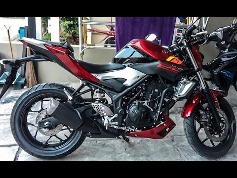 Yamaha MT 25 (3 colors option)