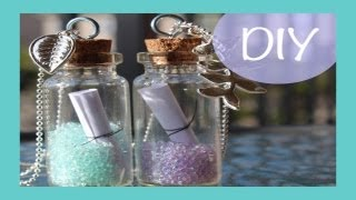 DIY Message In A Bottle Necklace | DIY Friday