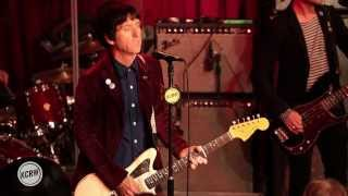 "Johnny Marr performing ""New Town Velocity"" Live at KCRW's Apogee Sessions"