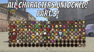 LEGO Marvel Superheroes - A Look at Every Character With Commentary (Part 3/4)