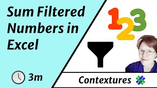 Sum Filtered Excel Table with AGGREGATE or SUBTOTAL