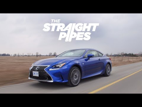 2018 Lexus RC350 F Sport Review - Amazing Looks, Decent Performance