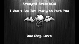 Avenged Sevenfold Drop C - I Won't See You Tonight Part 2 (Instrumental)