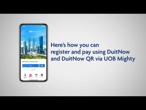 How to register and pay using DuitNow and DuitNow QR