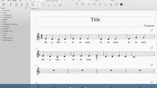 Creating a Simple Chord Lead Sheet with MuseScore - Самые