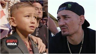 Max Holloway's loss to Dustin Poirier had big impact on his son | ESPN MMA