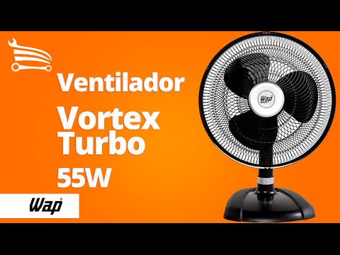 Ventilador Vortex Turbo de Mesa 49cm  - Video