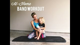 Full-body At-Home Band Workout
