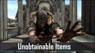 Skyrim: 5 More Unobtainable Items that you Can't Use (Part 5) - The Elder Scrolls 5: Skyrim Secrets