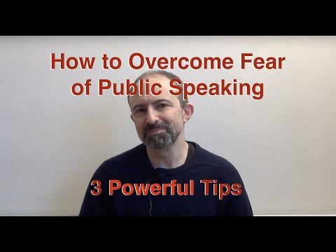 How to Overcome Fear of Public Speaking: 3 Tips