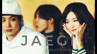 《JAEGI》GOT7 Jaebum And RED VELVET Seulgi Moments