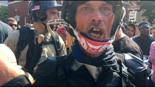 White nationalists and counter-protesters clash in Charlottesville