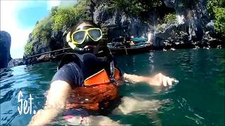 preview picture of video 'Trung,Thailand One day Snorkeling trip SJCAM4000Wifi'