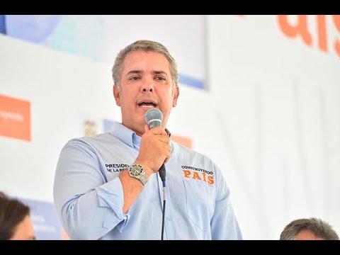 Presidente Duque habla tras ordenar captura de alias 'el Paisa' | Noticias Caracol