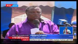 KTNLeo:Francis Atwoli amuomba Rais Uhuru Kenyatta kuchukuwa msimamo mkali dhidi ya wafisadi nchini