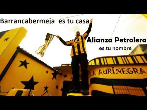 """""""MI MAQUINA AMARILLA   ALIANZA PETROLERA"""" Barra: Dominio Aurinegro • Club: Alianza Petrolera"""