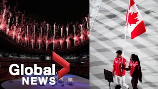 Tokyo Olympics: Games officially kick off with fireworks at opening ceremony