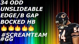 MADDEN 17 NANO:5 MAN UNSLIDEABLE BLITZ!34 ODD SCREAMTEAM MINI SCHEME PT1
