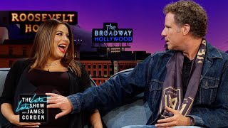 Eva Longoria Gets Parenting Tips from Will Ferrell - Video Youtube