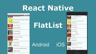React Native FlatList Example - Fetching Data from Server