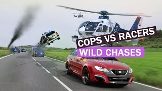 CHASES GONE WILD - Best Police CHASES Compilation - Cops VS Street Racers chases 2015