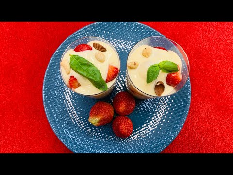 Recept na Mascarpone krém s jahodami | Indukční varná deska Miele CS 7612 FL