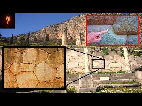 Advanced Unexplained Ruins Found At Delphi?