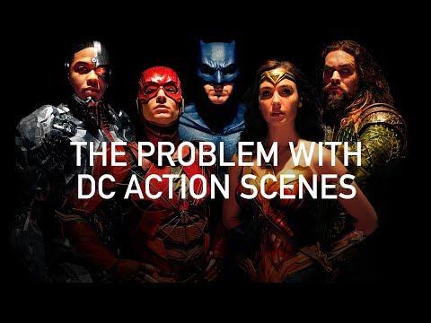 Problém s akčními scénami DC