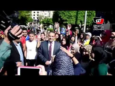 جامعة المنصورة تنظم ماراثون تحت شعار «تحيا مصر»