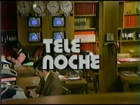 Telenoche Canal 13 20/10/1981